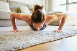 Working Out From Home? Keep Your Carpets From Smelling Like A Gym