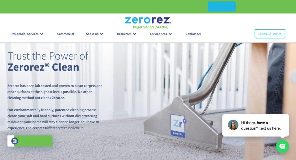 Zerorez of Puget Sound Carpet Cleaning